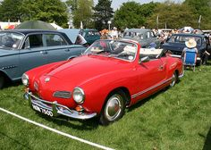 Convertible Karmann Ghia  -  My dad owned one when I was 15 and sold it before I turned 16 :-(