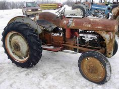 Ford 8N tractor salvaged for used parts. This unit is available at All States Ag Parts in Black Creek, WI. Call 877-530-2010 parts. Unit ID#: EQ-25415. The photo depicts the equipment in the condition it arrived at our salvage yard. Parts shown may or may not still be available. http://www.TractorPartsASAP.com