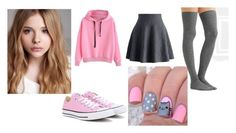 """""""PusheenPlay"""" by minorimiki-offficial ❤ liked on Polyvore featuring Converse, Base Range, Chloé and Chicwish"""