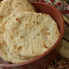 Homemade Flour Tortillas- the best soft tortilla recipe, I've found!! delicious! *****