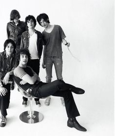 the strokes first photo session?