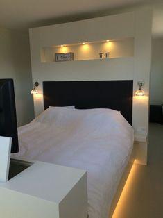 Bedroom Closet Design, Home Bedroom, Modern Bedroom, Bedroom Wall, Master Bedroom, Bedroom Decor, Loft Interior, Home Interior Design, Garage To Living Space