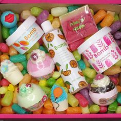 Look at these lovely treats from @bombcosmetics_official