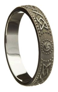 mens fantasy slidescan bands wedding rings