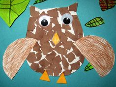 Owl Art Projects 1st Grade | And for the last of the owls, 2nd grade texture owls.