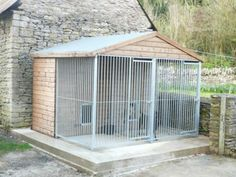 Great idea for cats and rabbits etc too.  Especially if connected to a room inside the house so that furry can escape the heat of the day if it wants.