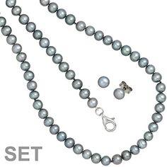 Dreambase Damen-Schmuckset grau Silber 45 cm -6 mm Dreambase https://www.amazon.de/dp/B00EYGNFTY/?m=A37R2BYHN7XPNV