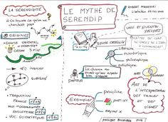 sketchnote Le Mythe de Serendip 2014