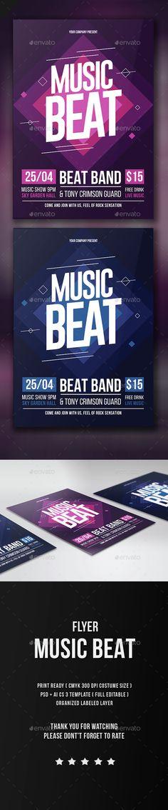 Music Beat Flyer