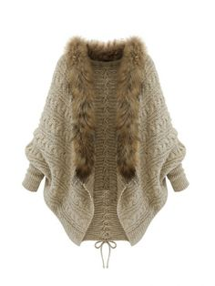 Western Winter Bat Sleeve Fur Collar Women Cardigan. Get your FREE myEcon CashBack Mall today! Simply visit: http://www.myeconmall.com/index.php?r=a53sdxK8X7z1a43z Happy Shopping! I help people to earn income. Click here to learn more: quinkinsey.myecon.net https://www.facebook.com/HelpingHandsFinancialStrategiesWithKarenQuinKinsey