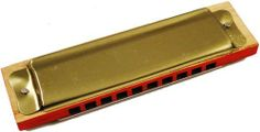 "Vintage 1970s 4"" Wood and Metal Harmonica by BeWild. $1.49. Vintage 1970s 4"" Wood and Metal Harmonica. Our 4"" metal harmonica produces a rich sound you would expect to hear out of a much more expensive model. This affordable alternative to high priced instruments sounds great and is an amazing v value. A great harmonica at a great price. Each hole produces 2 different notes: a blow note and a draw note. The 10 holes make it easy to produce clear, single tones on the very firs..."