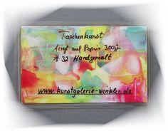 **Kunstgalerie Winkler**  Taschenkunstwerk (32)  **TaschenKunst Malerei ein Original und handgemalt, KEIN Druck!** Info über die Taschenkunst: Taschenkunst auch Pocket-Art-Concept ist ein...