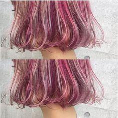 HAIR(ヘアー)はスタイリスト・モデルが発信するヘアスタイルを中心に、トレンド情報が集まるサイトです。20万枚以上のヘアスナップから髪型・ヘアアレンジをチェックしたり、ファッション・メイク・ネイル・恋愛の最新まとめが見つかります。 Hair Color And Cut, Cool Hair Color, Diy Hairstyles, Pretty Hairstyles, Hair Product Organization, Candy Hair, Fluffy Hair, Dye My Hair, Hair Images