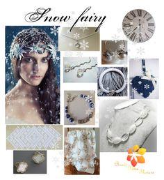"""Snow fairy"" by varivodamar ❤ liked on Polyvore featuring modern"