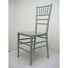 Stackable Silver Ballroom Chairs (Set of 2)