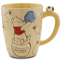 Winnie the Pooh Mug. Yep, I totally want this :) I don't have my 'own' mug, this would totally make me happy