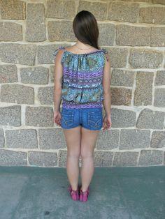 Vestido Saia Onda 4- #mundoshakti #quemédomar #estilo #moda #boho #bohochic #verão2016