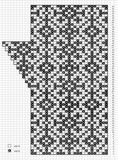 Ulla 01/10 - Ohjeet - Vanamo Knitted Mittens Pattern, Fair Isle Knitting Patterns, Crochet Mittens, Fingerless Mittens, Knitting Charts, Knitted Gloves, Knitting Socks, Knitting Stitches, Hand Knitting