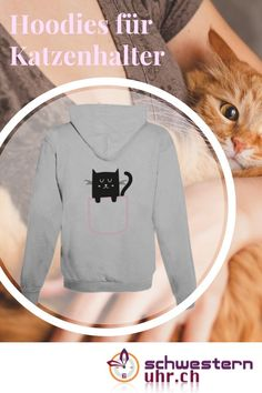 Du und dein Stubentiger Basel, Sweatshirts, Sweaters, Fashion, Comfortable Work Shoes, Funny Hoodies, Jacket With Hoodie, Rain Jacket, Hang In There