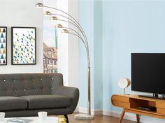 Les 5 lumières de ce lampadaire STELLA illumineront votre salon et lui donneront un style chic et original !