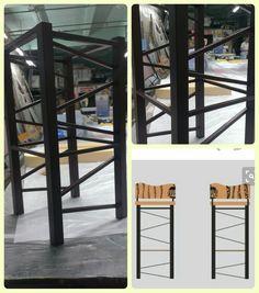 Bar stool 70%