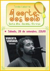 Roberto Sobrado @ A Corte dos bois - Sandiás (Ourense) música concerto concierto