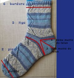 - (page - French Loop Knitting Socks, Free Knitting, Knitting Patterns, La Pointe, Owl Hat, Knit Crochet, Sewing, Points, Appliques