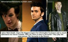 Yes, we love the doctor