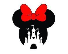 Arte Do Mickey Mouse, Minnie Mouse Bow, Cricut Craft Room, Cricut Vinyl, Cute Owls Wallpaper, Mickey Mouse Wallpaper Iphone, Mickey Silhouette, Disney Cookies, Disney Designs