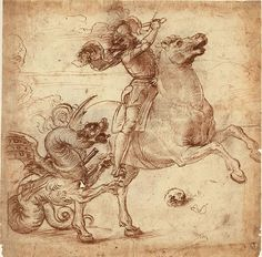 Raphael, St George and the Dragon