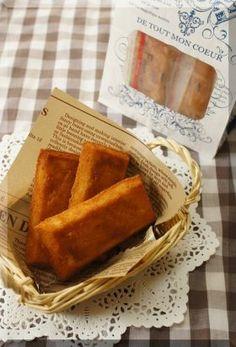 「* フランス菓子 * フィナンシェ♪」cherry♪ | お菓子・パンのレシピや作り方【corecle*コレクル】