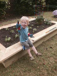 DIY Raised Vegetable Garden Plans - Rogue Engineer