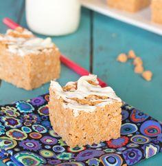 Peanut Butter Butterscotch Krispie Treats on MyRecipeMagic.com