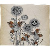 Found it at AllModern - Iveta Abolina Floral 3 Polyester Fleece Throw Blanket