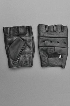 Leather Biker Gloves by Alter