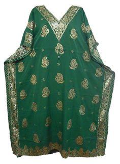 Women Stylish Silky New Vintage Moroccan Soft Maxi Cocktail Long Caftan Dress #Handmade #CaftanKaftanDress #Casual