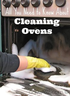 DIY - All You Need to Know About Cleaning Ovens