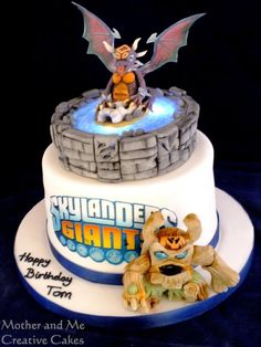 Cake for a Skylander Player - Cake by Mother and Me Creative Cakes