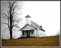 This little old church was in Rural Morgan County Indiana