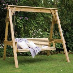 gartenschaukel verändert den gartenlook auf eine tolle art und, Garten und erstellen