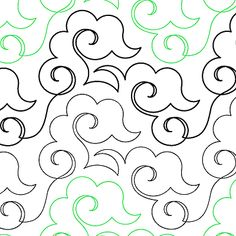 Will O The Wisp - Digital - Quilts Complete - Continuous Line Quilting Patterns