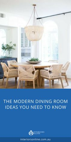 Modern dining room ideas - go grand for your dining table, get luxurious with dining chairs. Dining room decor to match your interior style. Dining room lighting to make the party. #diningroom #diningroomideas #diningroomdecor #diningtable #diningchairs #diningroomdecorideas #interiordesign #interiordesignideas #interiordesigninspiration #interiorsonline #furnituretrends #homedecor