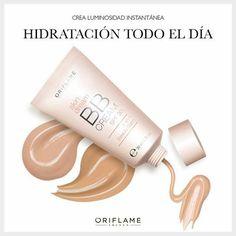 El nombre BB Cream viene de 'Bálsamo de Belleza' y es especial para uso diario, ya que funciona como crema hidratante, tiene factor solar y un tinte que empareja e ilumina el tono del rostro. ¡Usa la BB Cream cada vez que quieras un look natural y liviano! #BBCream #makeup #OriflameMX