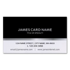"Sold this ""Simple Black/White Silver Line business card"", to a customer from North Carolina, NC! Thanks :)"