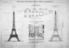 La construcción de la Torre Eiffel