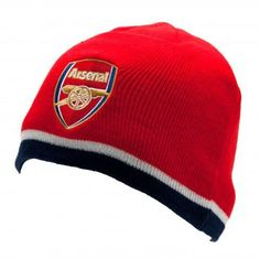 Arsenal FC - Red Stripe Knitted Hat