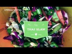 Thai Slaw- How to make Thai Slaw Salad - YouTube