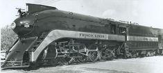 """4-6-2 Frisco Lines """"Firefly"""" streamline locomotive"""