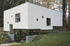 Man sieht es ihm wirklich nicht an, dem Einfamilienhaus in Hamburg, das nach Plänen der Konstanzer Kraus Schönberg Architekten...