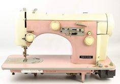 shopgoodwill.com: RETRO Necchi SuperNova Ultra Pink Sewing Machine